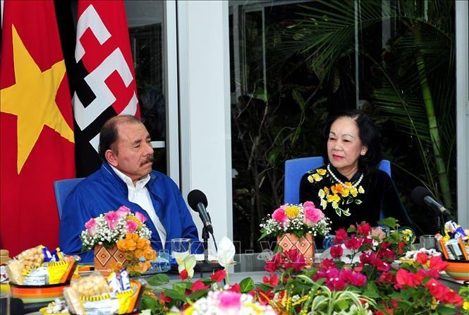 Đoàn đại biểu cấp cao Đảng Cộng sản Việt Nam thăm và làm việc tại Nicaragua - ảnh 1