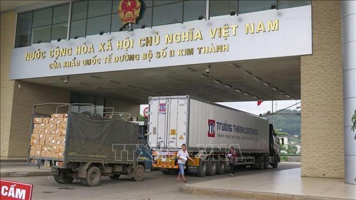 Xuất khẩu trên 6.500 tấn nông sản qua cửa khẩu Lào Cai - ảnh 1