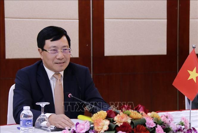 Năm Chủ tịch ASEAN 2020: Ngoại trưởng ASEAN thảo luận về dịch COVID-19 - ảnh 1