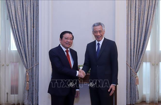 Singapore mong muốn đẩy mạnh quan hệ hợp tác nhiều mặt với Việt Nam     - ảnh 1
