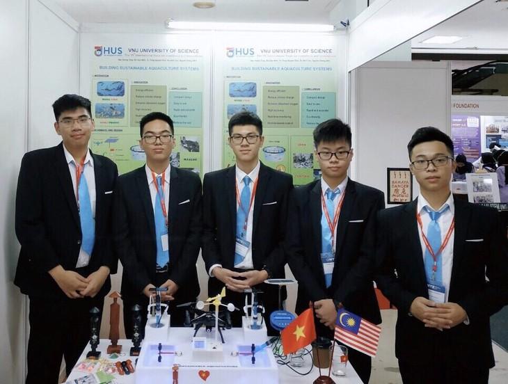 Việt Nam đạt Huy chương Bạc cuộc thi Sáng tạo và Đổi mới quốc tế tại Malaysia - ảnh 1