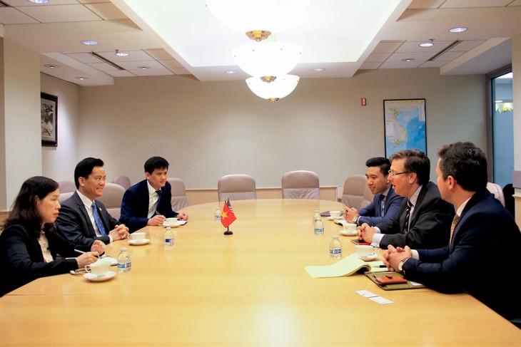 Việt Nam và Mỹ thúc đẩy các hoạt động hợp tác thương mại, đầu tư, du lịch song phương - ảnh 1