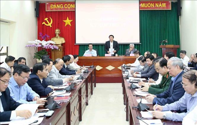 Kỳ họp thứ 12 Hội đồng Lý luận Trung ương - ảnh 1