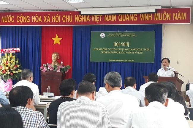 Nâng cao hiệu quả công tác kết nối kiều bào tại Thành phố Hồ Chí Minh - ảnh 1