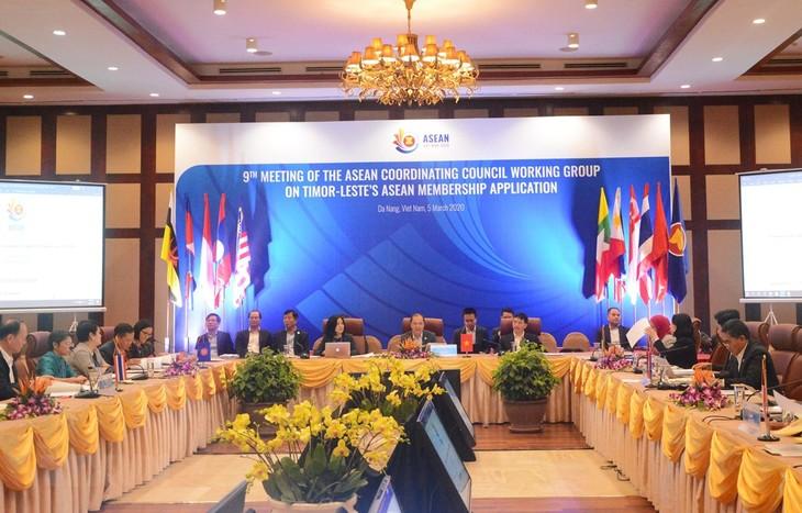 Cuộc họp lần thứ 9 Nhóm công tác Hội đồng Điều phối ASEAN - ảnh 1