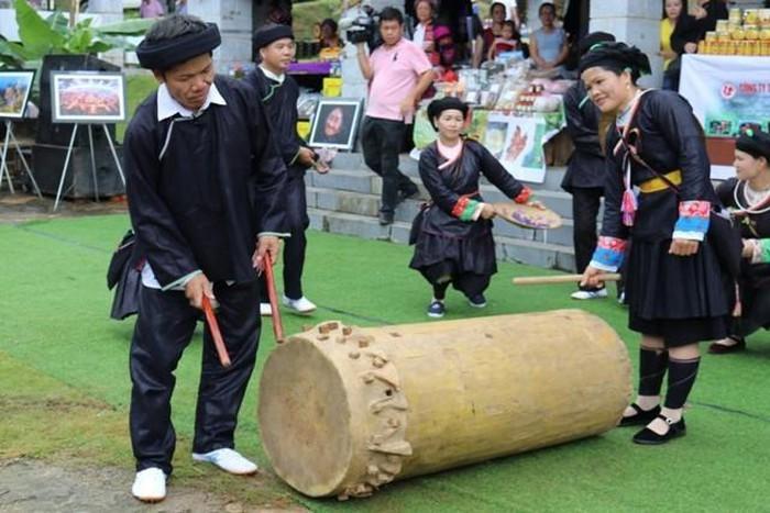 Điệu múa trống của đồng bào Giáy ở tỉnh Hà Giang - ảnh 2