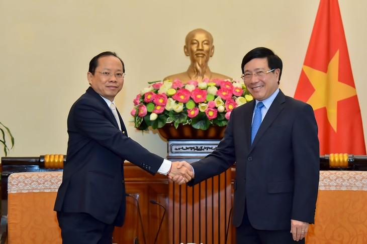 Việt Nam coi trọng hợp tác với Campuchia trên mọi lĩnh vực - ảnh 1