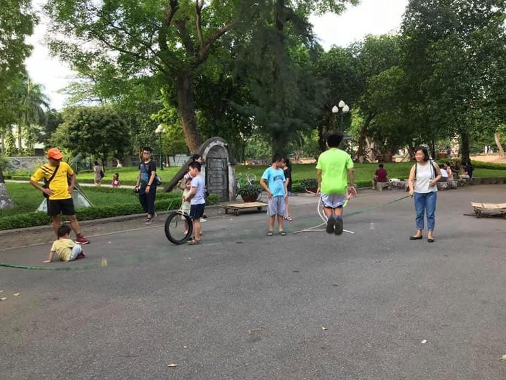 Sân chơi tái chế Think Playground- món quà tinh thần vô giá của trẻ thơ - ảnh 5
