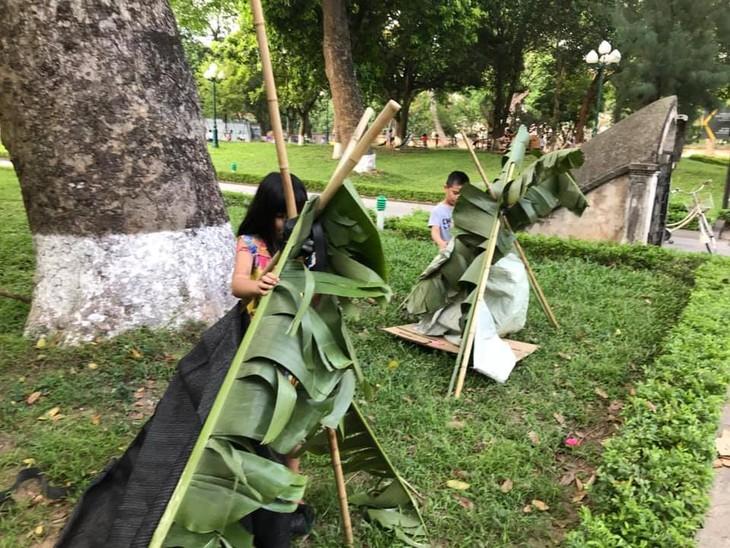 Sân chơi tái chế Think Playground- món quà tinh thần vô giá của trẻ thơ - ảnh 4