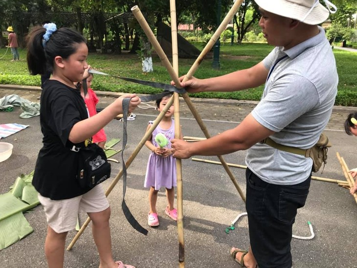 Sân chơi tái chế Think Playground- món quà tinh thần vô giá của trẻ thơ - ảnh 8