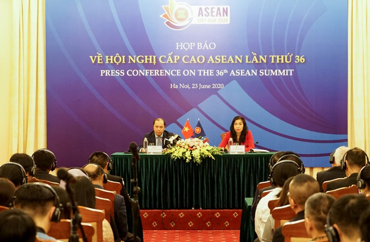 """Việt Nam tiếp tục nêu bật chủ đề """"Gắn kết và chủ động thích ứng"""" tại Hội nghị cấp cao ASEAN 36 - ảnh 1"""