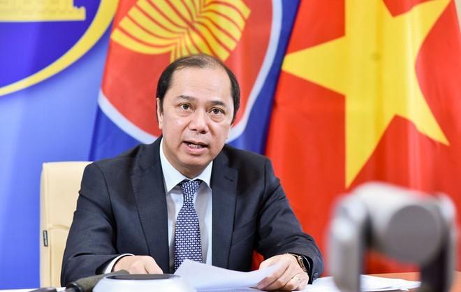 ASEAN nỗ lực thực hiện các nhiệm vụ kép: Phòng chống dịch và triển khai xây dựng Cộng đồng - ảnh 1