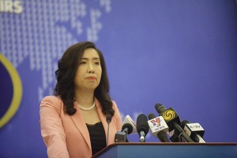 Việt Nam phản đối Trung Quốc tập trận trái phép ở Hoàng Sa - ảnh 1