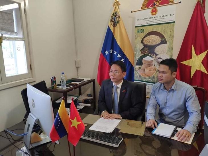 Việt Nam và Venezuela tăng cường xúc tiến thương mại - ảnh 1