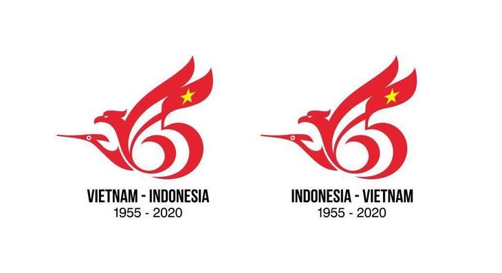 Công bố kết quả cuộc thi thiết kế logo kỷ niệm 65 năm quan hệ ngoại giao Việt Nam – Indonesia - ảnh 1