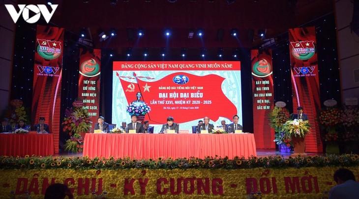 Đại hội Đại biểu Đảng bộ Đài Tiếng nói Việt Nam lần thứ 26 cơ bản thành công với những mục tiêu đã đề ra - ảnh 1