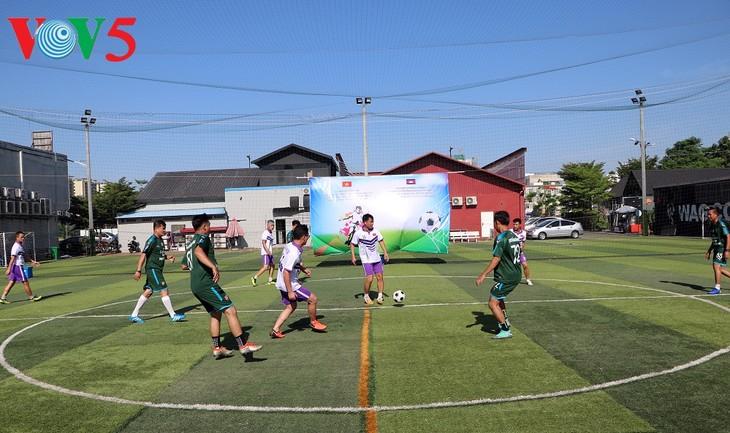 Giải bóng đá chào mừng kỷ niệm 75 năm Quốc khánh nước CHXHCN Việt Nam tại Campuchia - ảnh 4