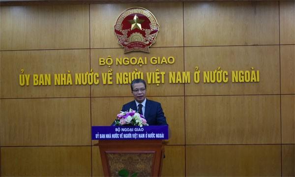 Khai trương phòng truyền thống Ủy ban Nhà nước về người Việt Nam ở nước ngoài - ảnh 1