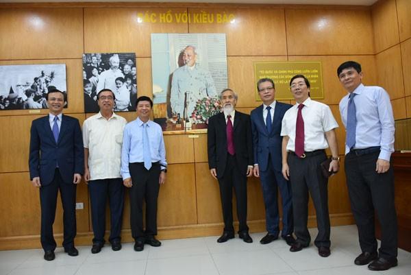 Khai trương phòng truyền thống Ủy ban Nhà nước về người Việt Nam ở nước ngoài - ảnh 4