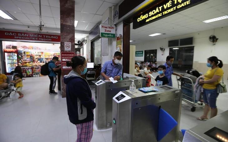 Ngành đường sắt triển khai phương thức trả vé tàu trên hệ thống bán vé điện tử - ảnh 1