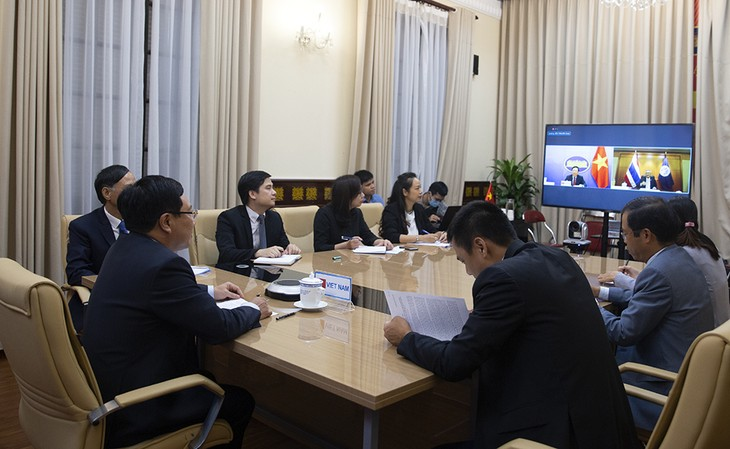 Phó Thủ tướng, Bộ trưởng Ngoại giao Phạm Bình Minh dự Hội nghị Bộ trưởng Ngoại giao trực tuyến G20 - ảnh 2