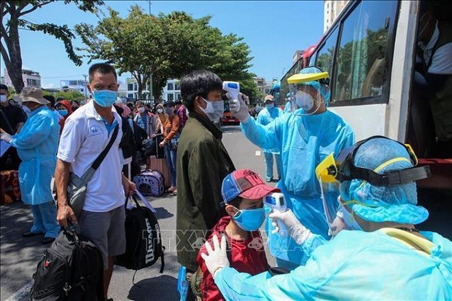 Khôi phục hoạt động vận tải hành khách đi/đến thành phố Đà Nẵng - ảnh 1