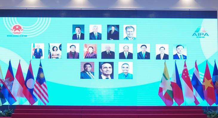 Khai mạc trọng thể Đại hội đồng AIPA 41 - ảnh 3