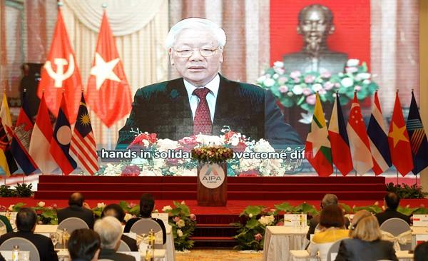 Việt Nam nỗ lực thực hiện trọng trách năm Chủ tịch AIPA 2020 - ảnh 3