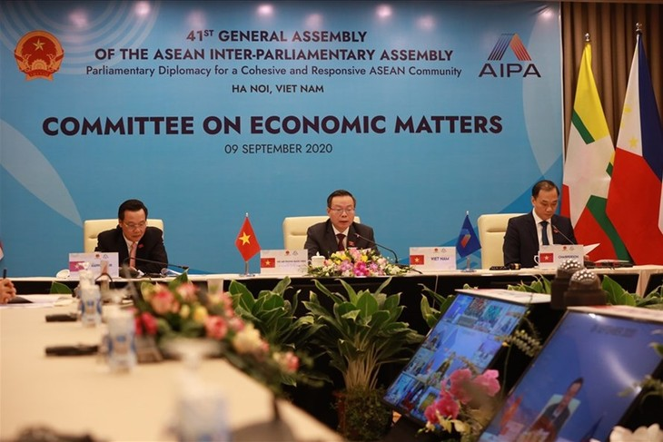 Các Uỷ ban của AIPA đề xuất những giải pháp để khu vực vượt qua khó khăn do dịch COVID - 19 - ảnh 2