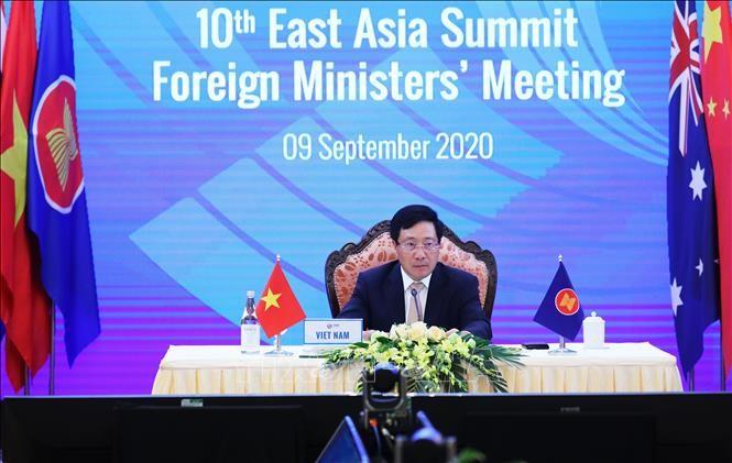 Hội nghị Bộ trưởng Cấp cao Đông Á: Dấu mốc 15 năm hợp tác và định hướng giai đoạn mới - ảnh 2