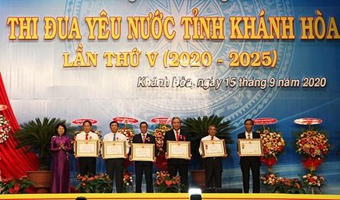 Phó Chủ tịch nước Đặng Thị Ngọc Thịnh dự Đại hội Thi đua yêu nước tỉnh Khánh Hòa - ảnh 2