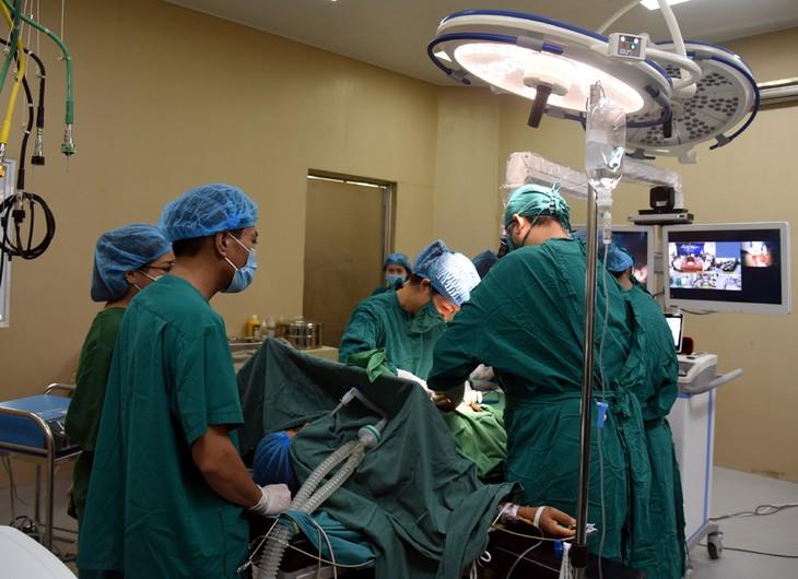 Bệnh viện Trung ương Thái Nguyên: Ứng dụng 2 nền tảng công nghệ khám chữa bệnh từ xa - ảnh 1