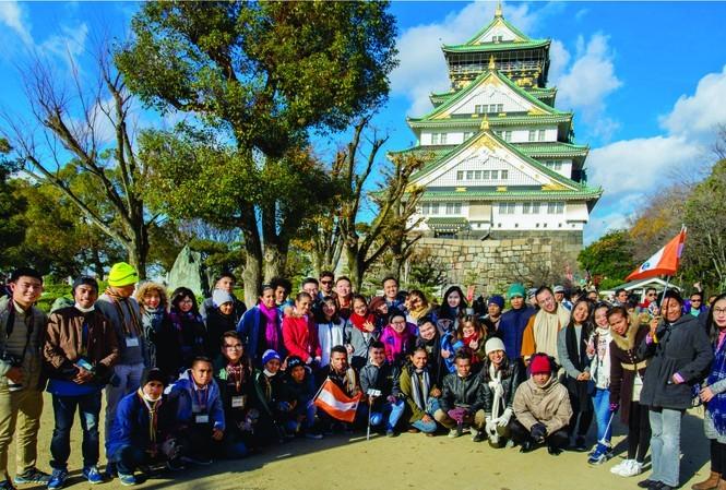 Kỷ niệm 25 năm hợp tác thanh niên Việt Nam - Nhật Bản - ảnh 1