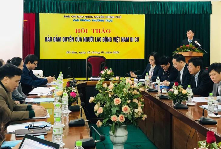 Bảo đảm quyền của người lao động Việt Nam di cư - ảnh 1