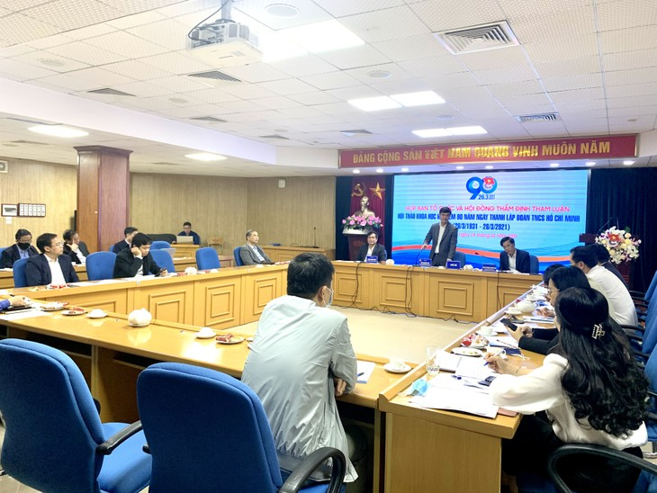 Có hơn 90 tham luận gửi về Hội thảo khoa học kỷ niệm 90 năm Ngày thành lập Đoàn TNCS Hồ Chí Minh - ảnh 1