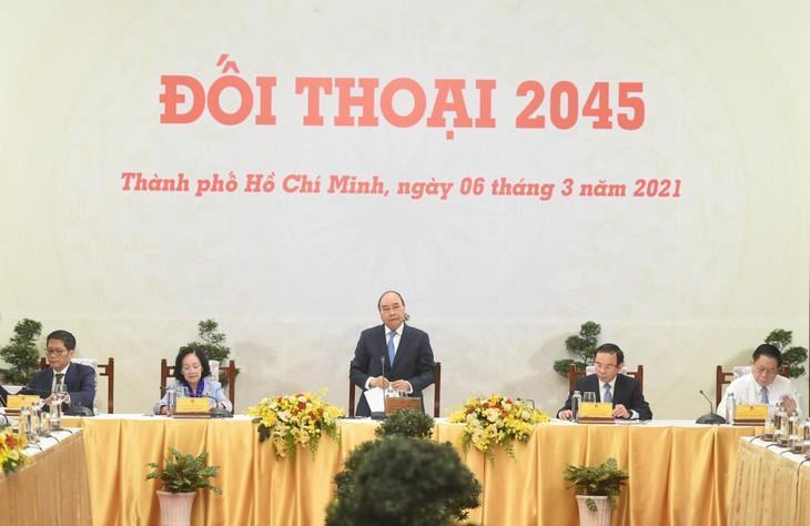 Hiện thực hóa mục tiêu vì một Việt Nam hùng cường vào năm 2045 - ảnh 1