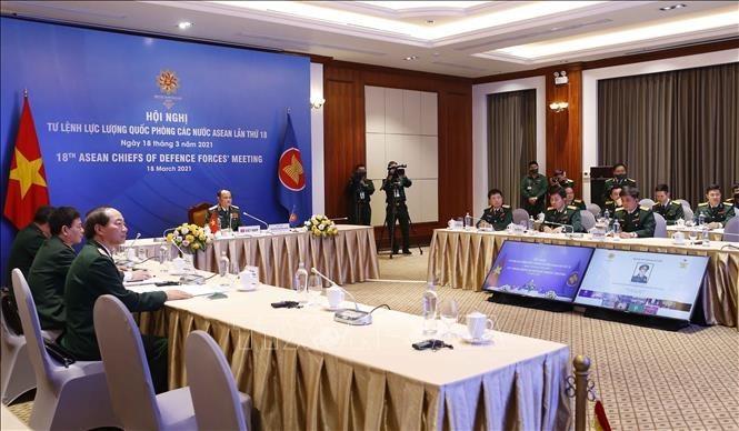Việt Nam cam kết tham gia có trách nhiệm trong hợp tác quốc phòng, quân sự ASEAN - ảnh 2