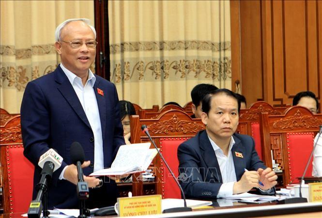 Phó Chủ tịch Quốc hội Uông Chu Lưu giám sát, kiểm tra công tác chuẩn bị bầu cử tại Thái Bình - ảnh 1