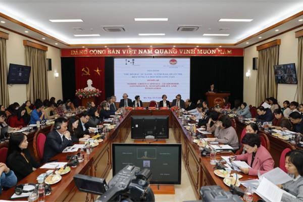 Chia sẻ kinh nghiệm phát triển bền vững giữa Việt Nam với các nước Bắc Âu - ảnh 1