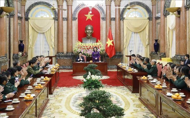 Hội truyền thống Trường Sơn - Đường Hồ Chí Minh tỉnh Nam Định tích cực đóng góp xây dựng quê hương giàu đẹp - ảnh 1