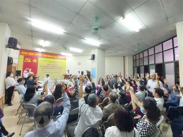 Trưởng Ban dân vận Trung ương Trương Thị Mai được cử tri giới thiệu ứng cử đại biểu Quốc hội khóa XV - ảnh 1