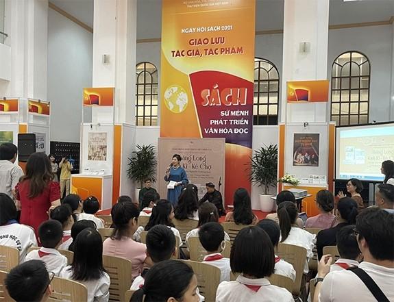 Hà Nội khai mạc Ngày hội sách 2021 - ảnh 1