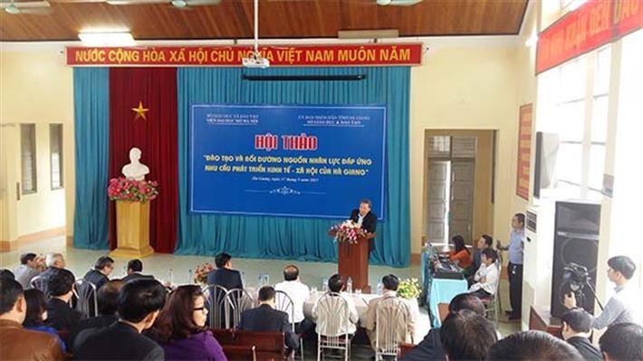Việt Nam xây dựng mô hình giáo dục mở - ảnh 1