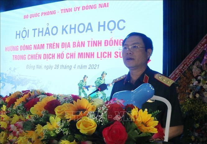 Mũi tiến công hướng Đông Nam trên địa bàn tỉnh Đồng Nai- tiền đề quan trong trong chiến dịch Hồ Chí Minh - ảnh 1