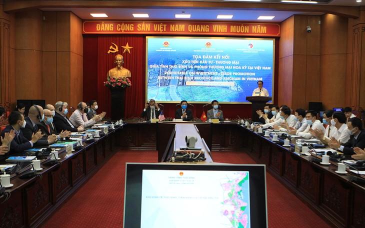 Kết nối xúc tiến đầu tư - thương mại tỉnh Thái Bình với các doanh nghiệp Hoa Kỳ - ảnh 1