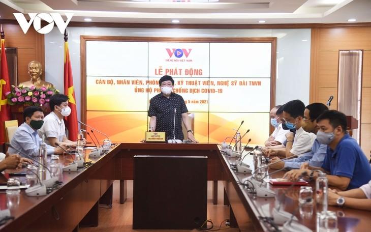 Đài Tiếng nói Việt Nam ủng hộ Quỹ phòng, chống dịch COVID-19 - ảnh 1
