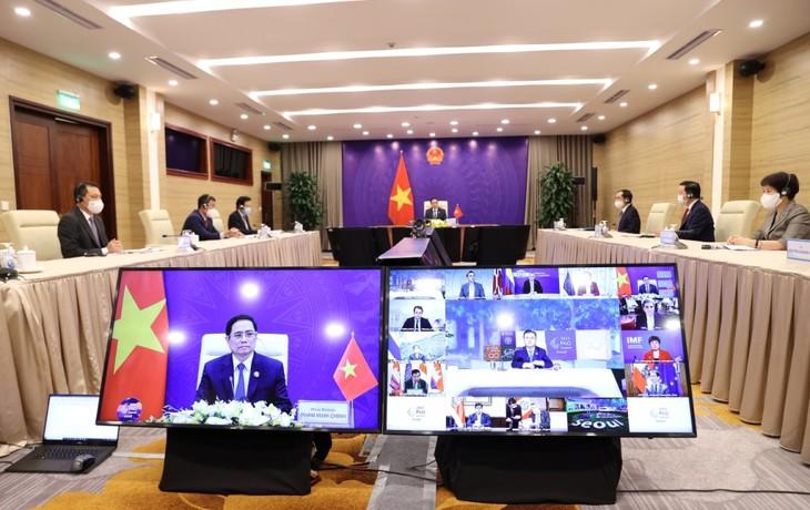 Thủ tướng Phạm Minh Chính đưa ra sáu giải pháp quan trọng tại Phiên thảo luận của Hội nghị P4G 2030 - ảnh 2
