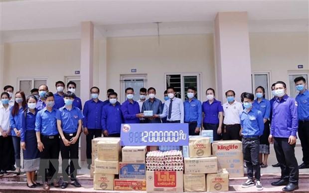 Trung ương Đoàn Thanh niên Lào hỗ trợ các lưu học sinh Việt Nam - ảnh 1
