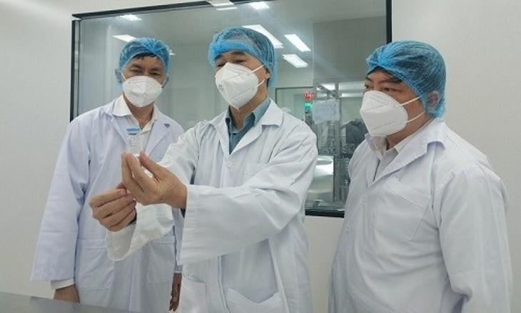 100% đối tượng được tiêm Nanocovax  đều có kháng thể - ảnh 1