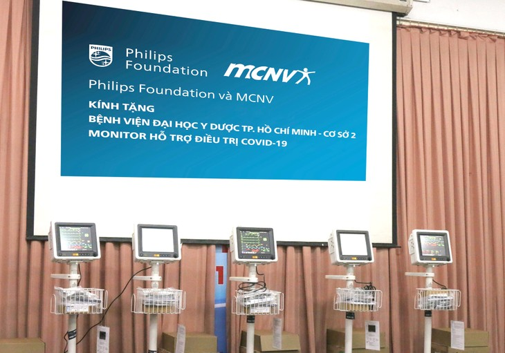 Công ty Philips và MCNV ( Hà Lan) hỗ trợ Việt Nam máy thở theo dõi bệnh nhân - ảnh 1
